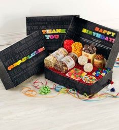 Say It In Color Snackers Choice Gift Box
