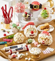 Christmas Popcorn Ball Decorating Kit
