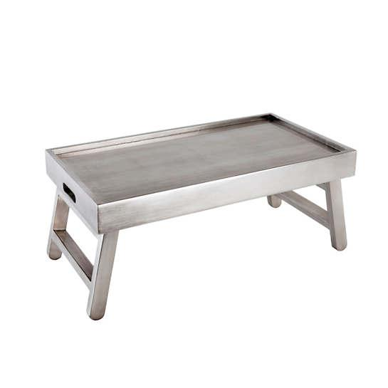 Antique Silver Breakfast In Bed Tray