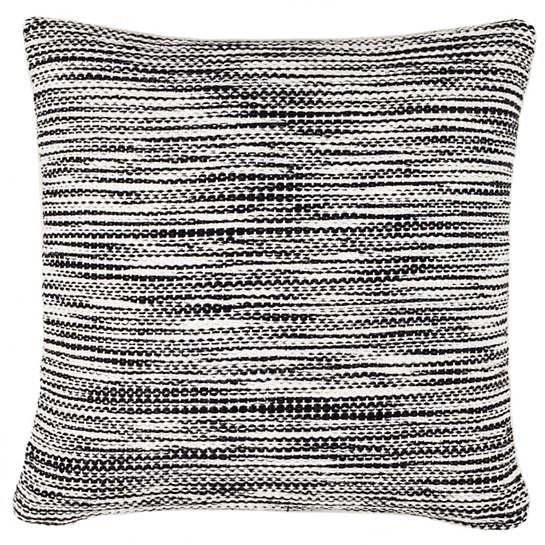 Tideline Black Indoor Outdoor Decorative Pillow The Outlet