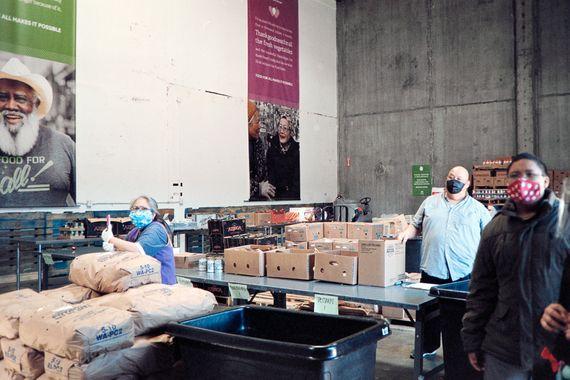 Donation page to the San Francisco-Marin Food Bank