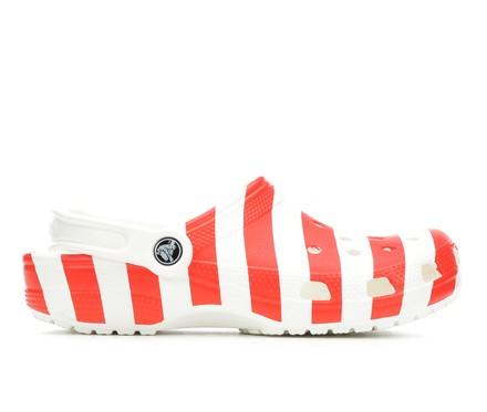 Adults' Crocs Classic American Flag Clogs