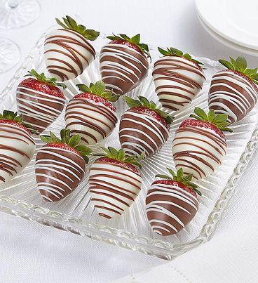 Decadent Chocolate Covered Strawberries