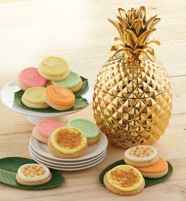 Cheryl's Pineapple Cookie Jar
