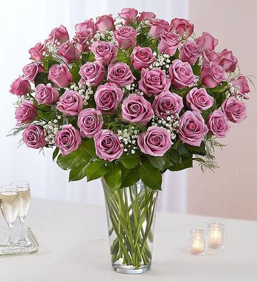 Ultimate Elegance™ Long Stem Lavender Roses