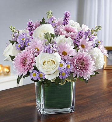 Healing Tears™ Lavender & White