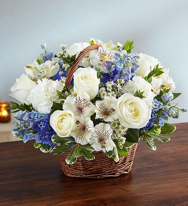 Peace, Prayers & Blessings™ Blue & White