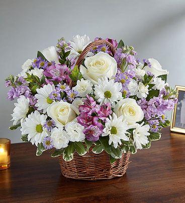 Peace, Prayers & Blessings™ Lavender & White