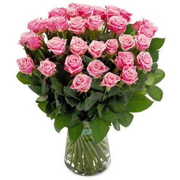 Perfectly Pink Rose bouquet