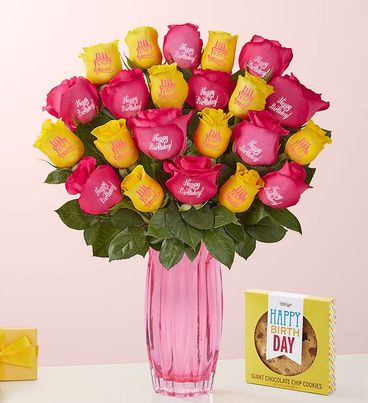 Conversation Roses ™ Happy Birthday