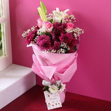 Purple Breeze Bouquet