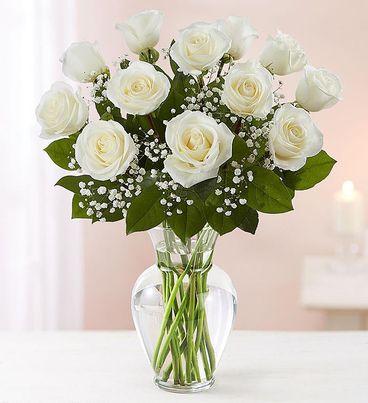 Rose Elegance™ Premium Long Stem White Roses