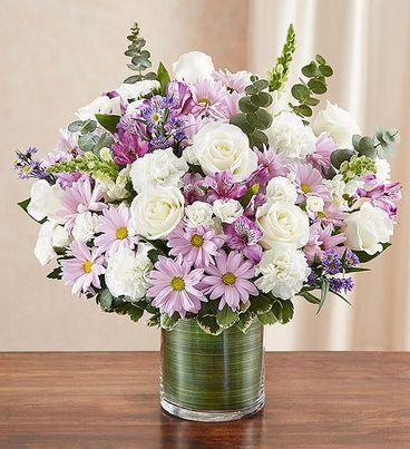 Cherished Memories™ Lavender & White