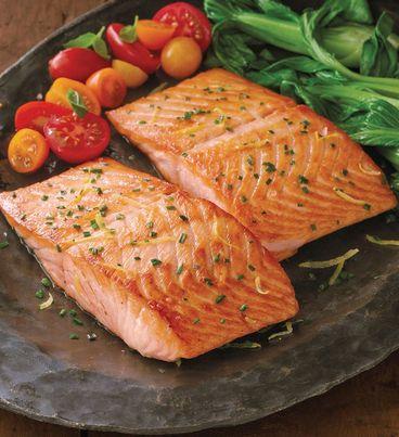 Atlantic Salmon Filets - Six 10-Ounce