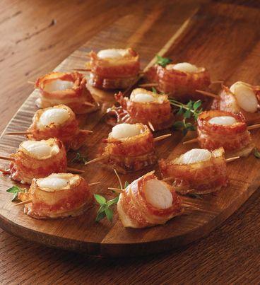Bacon-Wrapped Scallops