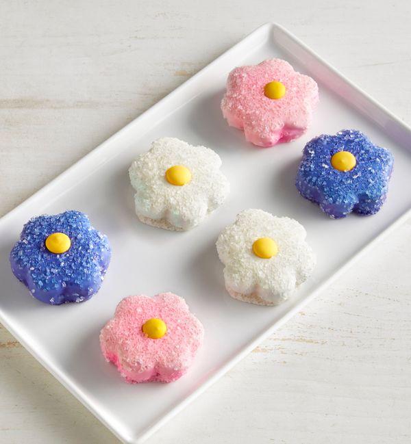Brownie Blooms Flower-Shaped Mini Brownie Cakes