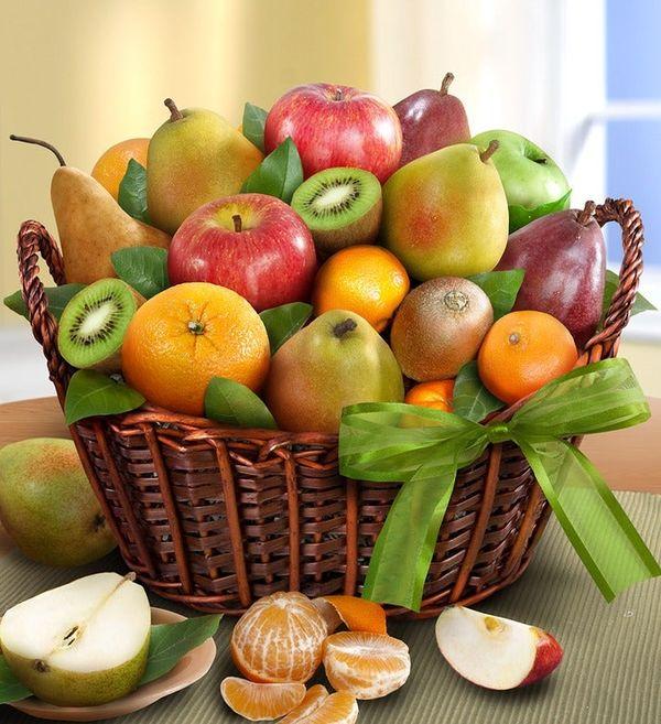 Premier Orchard Fruit Gift Basket