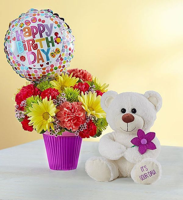 Lotsa Love® Birthday Bouquet