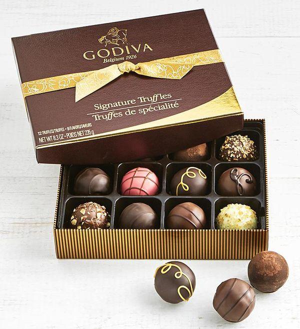 Godiva Signature Truffles Box